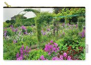 Garden Of Claude Monets House, Giverny Carry-all Pouch