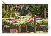Garden Table Setting Carry-all Pouch