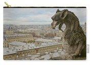 Gargoyle Overlooking Paris Carry-all Pouch