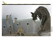 Gargoyles On Roof Of Biltmore Estate Carry-all Pouch