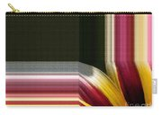 Gazania Named Big Kiss White Flame Carry-all Pouch