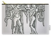 Gemini An Illustration Carry-all Pouch