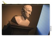 George Washington Dark Blue -- Horatio Greenough Carry-all Pouch