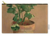Geraniums In A Pot Carry-all Pouch