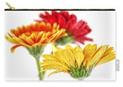 Gerbera Flowers Carry-all Pouch