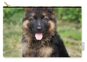 German Shepherd Puppy Carry-all Pouch by Sandy Keeton