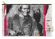 Geronimo With Pistol Ft. Sill Oklahoma Collage Circa 1910-2012 Carry-all Pouch
