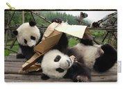 Giant Panda Ailuropoda Melanoleuca Pair Carry-all Pouch