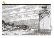 Lighthouse Gig Harbor Entrance Carry-all Pouch