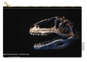 Giganotosaurus Skull 3 Carry-all Pouch