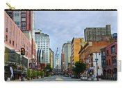 Give My Regards To Broad Street Carry-all Pouch by Bill Cannon