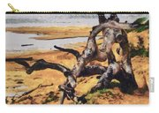 Gnarly Tree Carry-all Pouch by Barbara Snyder