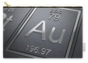 Gold Chemical Element Carry-all Pouch