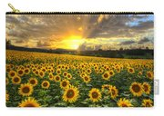 Golden Evening Carry-all Pouch by Debra and Dave Vanderlaan