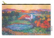 Golden Farm Scene Carry-all Pouch
