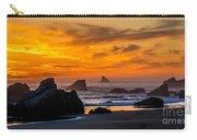 Golden Harris Beach Sunset - Oregon Carry-all Pouch