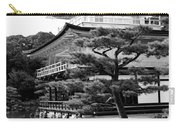 Golden Pagoda In Kyoto Japan Carry-all Pouch by David Smith