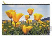 Golden Poppies Impasto Carry-all Pouch