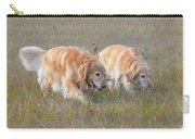 Golden Retriever Dogs On The Hunt Carry-all Pouch