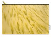 Golden Sand Pattern Created By Surf On Beach Carry-all Pouch