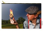 Golf Ball Flames Carry-all Pouch
