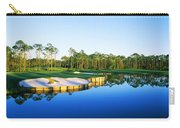 Golf Course At The Lakeside, Regatta Carry-all Pouch