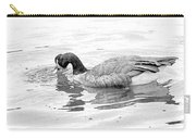 Goose In The Water Carry-all Pouch