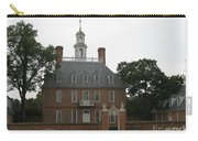 Governers Palace Colonial Williamsburg Carry-all Pouch
