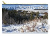 Grand Teton Landscape Carry-all Pouch