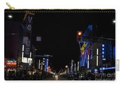 Granville Street At Night Vancouver Carry-all Pouch