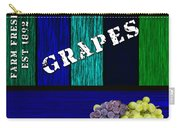 Grape Farm Carry-all Pouch