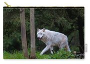 Gray Wolf White Morph Carry-all Pouch