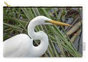 Great Egret Close Up Carry-all Pouch