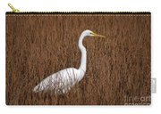 1- Great Egret Carry-all Pouch