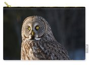 Great Gray Owl Pictures 789 Carry-all Pouch