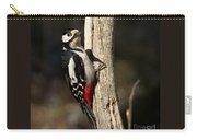 Great Spotted Woodpecker  Carry-all Pouch