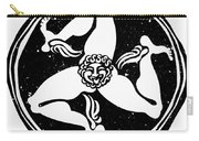 Greece Triskelion Carry-all Pouch