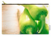 Green Jalapeno Peppers Carry-all Pouch