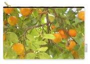 Green Leaves And Mature Oranges On The Tree Carry-all Pouch