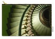 Green Spiral Staircase Carry-all Pouch