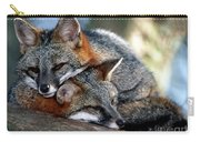 Grey Foxes Carry-all Pouch