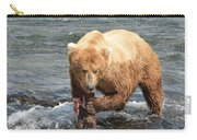 Grizzly Bear Salmon Fishing Carry-all Pouch