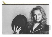Grunge Photo Of Female Cabaret Performer Carry-all Pouch
