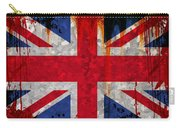 Grunge Union Flag Carry-all Pouch