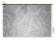 Guatemala Street Map - Guatemala City Guatemala Road Map Art On  Carry-all Pouch