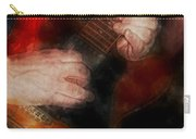 Guitar Traveling Pigments Carry-all Pouch