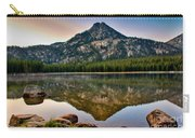 Gunsight Mountain Reflection Carry-all Pouch by Robert Bales