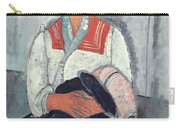 Gypsy Woman With Baby Carry-all Pouch by Amedeo Modigliani