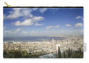 Haifa Bay Panorama Carry-all Pouch