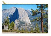 Half Dome From Sentinel Dome Trail In Yosemite Np-ca Carry-all Pouch